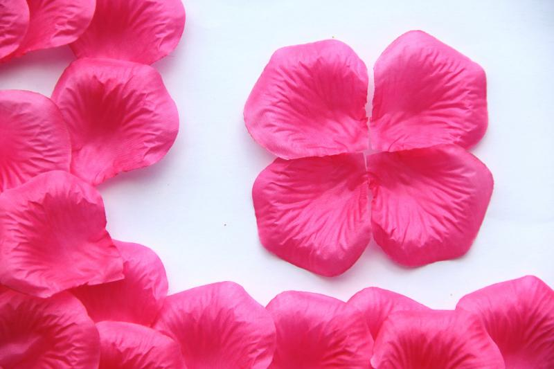350 bags Silk Rose Flower Petals Confetti/Decora...