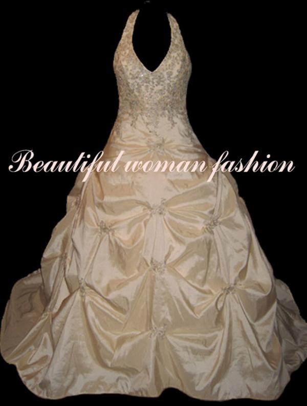 Cream Gold Wedding Ball Gown Dress X And L Trading