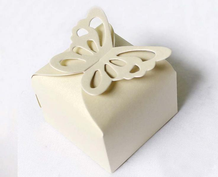 Ivory Wedding/Party Sweets Favours Boxes