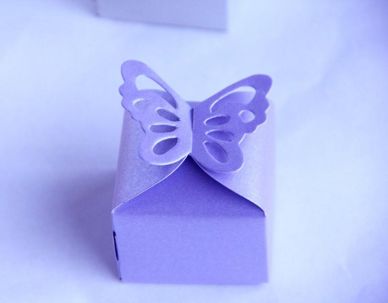 Lilac Wedding/Party Sweets Favours Boxes