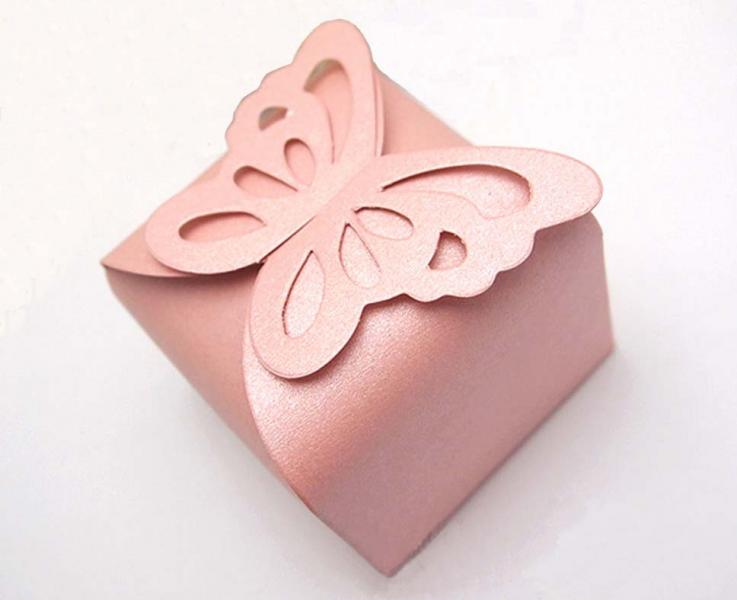 Pink Wedding/Party Sweets Favours Boxes