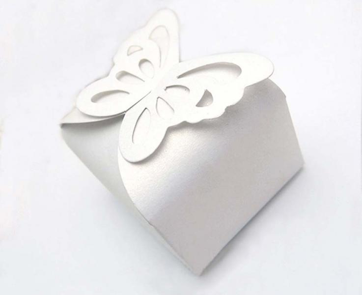 White Wedding/Party Sweets Favours Boxes